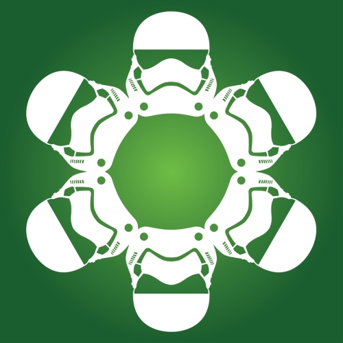 Stormtrooper First Order - Star Wars Snowflake