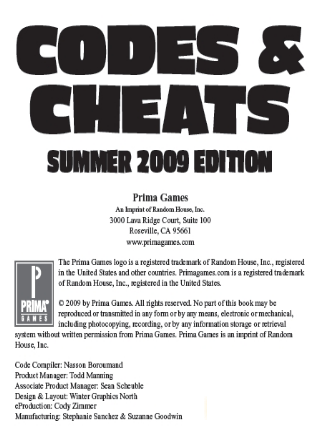 codes cheats 2009 psp ps2 ps3 xbox xbox 360 wii
